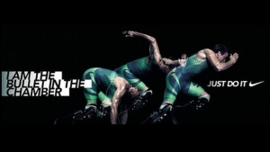 Publicité ambarassante retirée par Nike mettant en scène Pistorius.