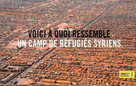 camp réfugiés Syriens
